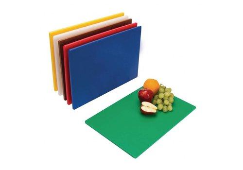 Hygiplas Cutting board plastic | 6 cutting boards 45x30x1.25cm
