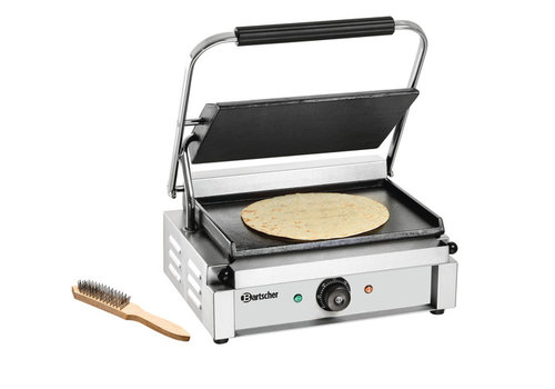 Bartscher Electric contact grill Smooth & Smooth 41x37x (h) 20 cm