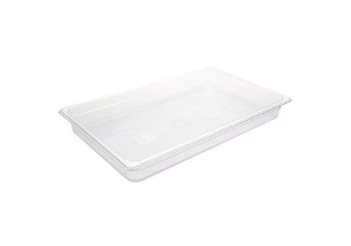 Vogue Plastic gastronorm container 1/1 | 4 Formats