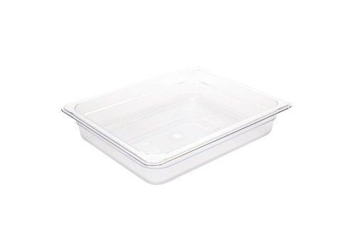 Vogue Plastics GN baking 1/2 | 4 Formats - White