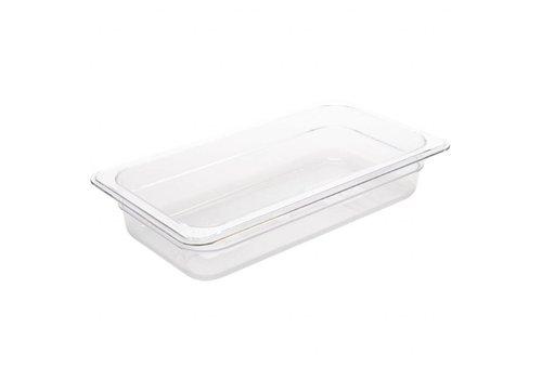 Vogue Plastic gastronorm baking 1/3 | 4 different sizes