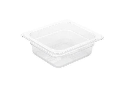 Vogue Strong plastic GN containers 1/6 | 3 formats