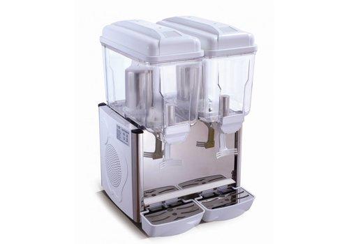 Saro Gekoelde dranken dispenser 2 x 12 Liter