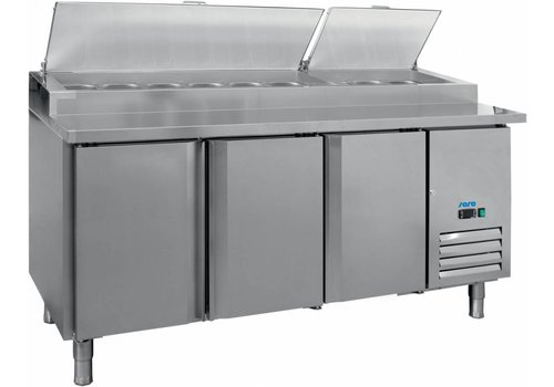 Saro Ventilated Preparation Table 3 Doors
