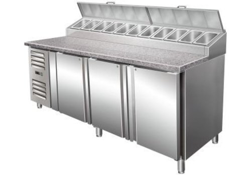 Saro Cooled Preparation Table 3 doors with Fan