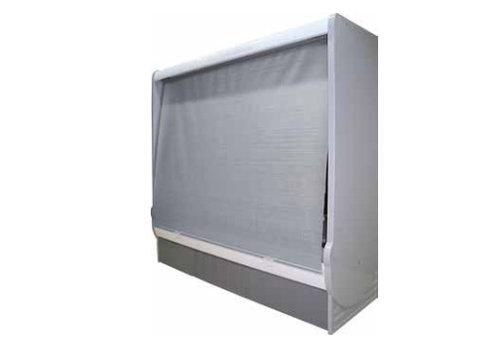 HorecaTraders Nachtvorhangfassade Kühler | Manuell ohne Kassette