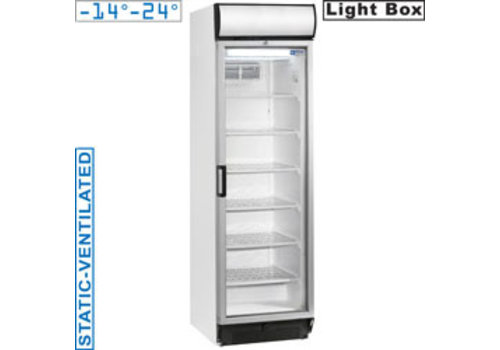 Diamond Static / Ventilated Freezer with Glass Door | Clemence
