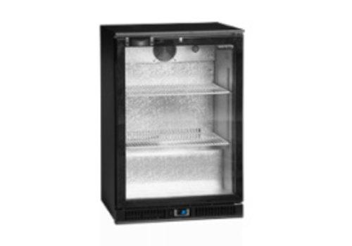 Tefcold TEFCOLD schwarz Backbar-Kühler mit Glastüren