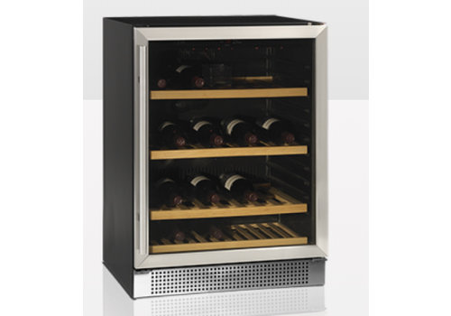 Tefcold Wine cooler with glass door TFW160S