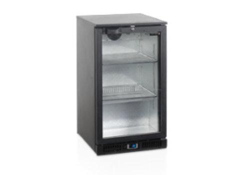 Tefcold TEFCOLD schwarzer Backbar-Kühler mit einer Tür