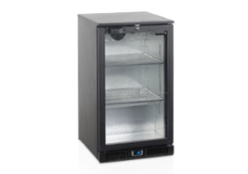 Tefcold TEFCOLD schwarz Backbar-Kühler mit Tür 1
