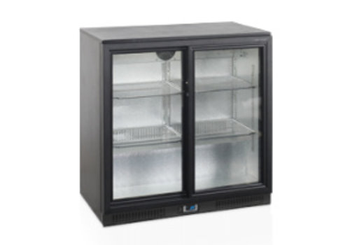 Tefcold Tefcold Backbar cooler with 2 glass doors