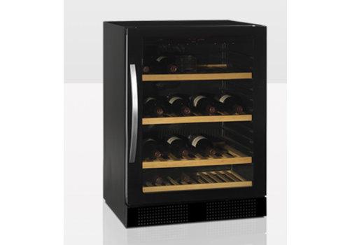 Tefcold Wijnkoeler TFW160F met glazendeur