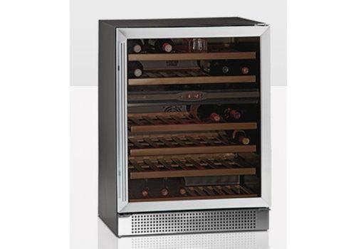 Tefcold Wijnkoeler met Glazendeur TFW160-2S
