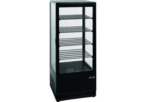Saro Refrigerated display case Black | 426 x 1105