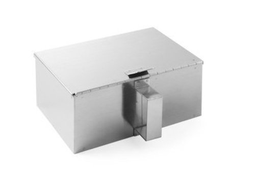 Hendi Stainless steel ash collector 210x140x (h) 90mm