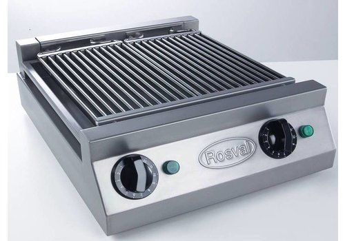 Rosval Waterbath grill - Aquagrill 2 elements - 5kW -400V