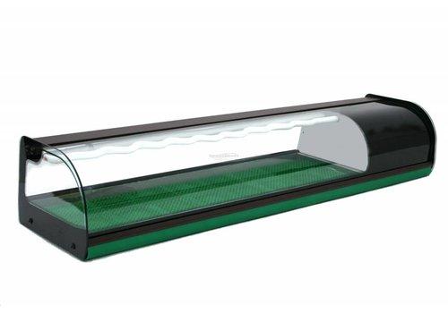 Combisteel Sushi Design Showcase 144 (b) x37 (d) x28,5 (h) cm