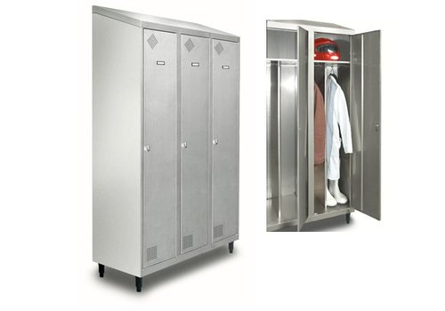 HorecaTraders RVS Kleding locker
