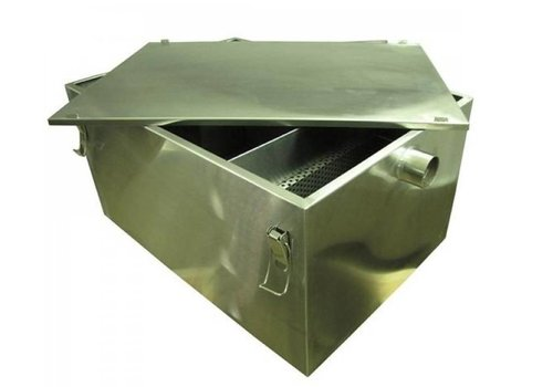 Combisteel Grease separator stainless steel | 36 Ltr / min