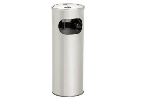 Bartscher Abfallbehälter mit Aschenbecher | 11L