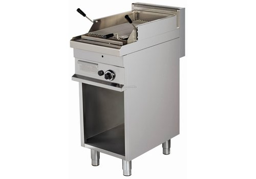 Combisteel Lavasteengrill Gas with open base 40x70x90 cm