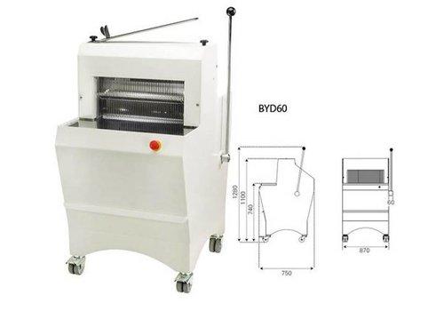 Sofinor Brotschneidemaschine | Halbautomatische | Brot Dicke 11-16mm | 490W