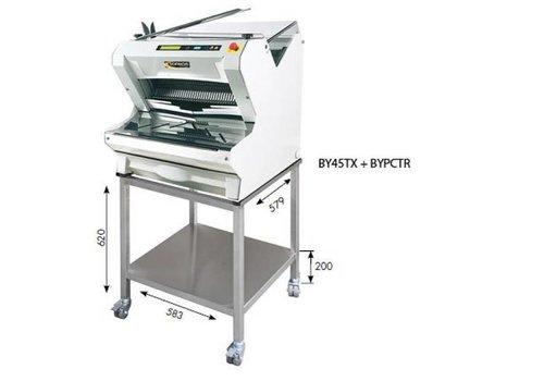 Sofinor Brotschneidemaschine | Weiß Tabletop | Automatik | Brot auf | 550W