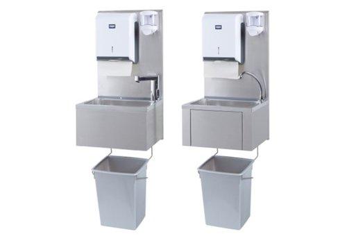 Sofinor Horeca hand wasbak + papier en zeep dispenser | Plastic