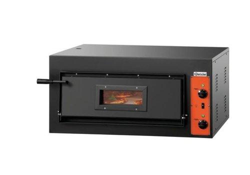 Bartscher Pizza oven Tin steel 4200 Watt 4 Pizzas