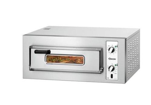 Bartscher Gastronomie Pizzaofen 4000 Watt | 4 Pizzen