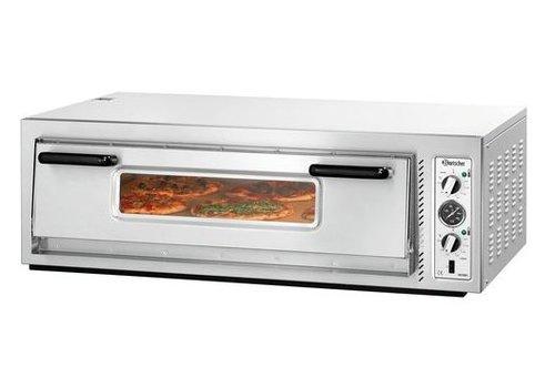 Bartscher Gastronomie Pizzaofen 6000 Watt | 6 Pizzen