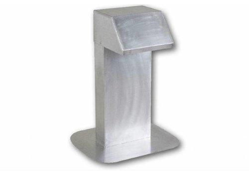 HorecaTraders Aluminium Dachdurchführung   extra hohe Hals