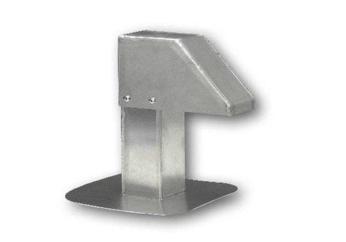 HorecaTraders Aluminium Dachdurchführung   schmale Passage