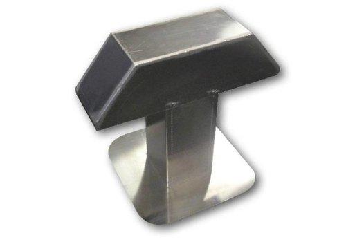 HorecaTraders Aluminium Dachdurchführung   2 Ausgängen