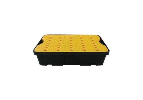 HorecaTraders Tropfschale 600x400 mm - 20L - Enthält gelbes Gitter