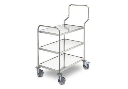 HorecaTraders Trolley Ergo | 3 Blatt