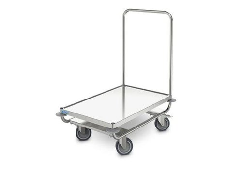 HorecaTraders Warehouse trolley 80 x 50 cm