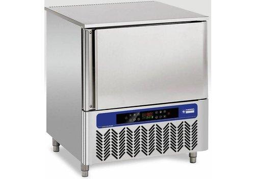 Diamond Freezer stainless steel | 5x GN1 / 1