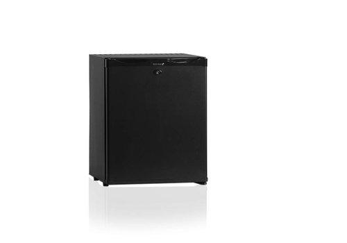Diamond Minibar-Kühlschrank Schwarz - 30 Liter - Stahl - MIT FLÜSSIGKEIT GEKÜHLT