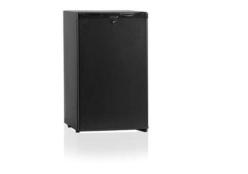 Diamond Minibar Black - Very Quiet - 50 Liter - Door lock with key