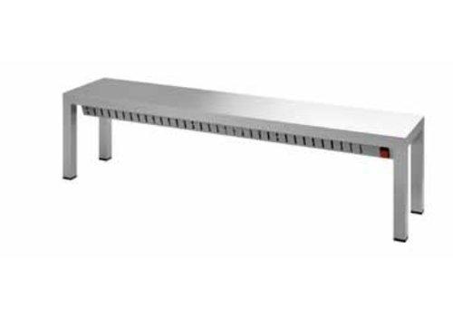 Combisteel Professionele Warmhoudbrug Enkel | 200 cm