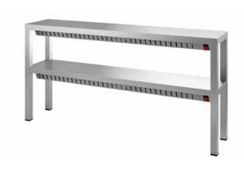 Combisteel Dubbele Warmhoudbrug | 140 cm
