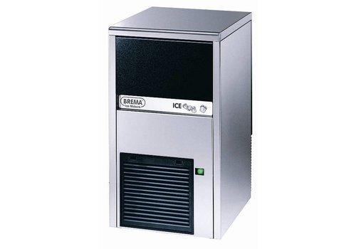Brema RVS IJsblokjesmachine CB249-HC | 24kg/24uur | Luchtgekoeld