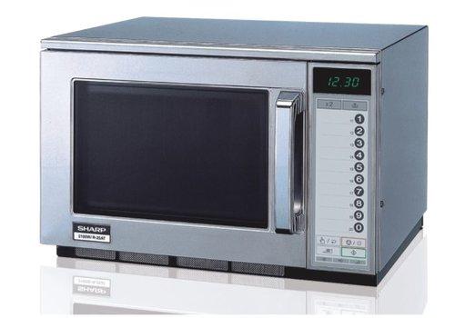 Sharp Mikrowelle 2100w   Berühren Sie die Schaltfläche