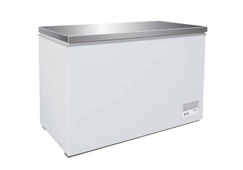 Combisteel Freezer with stainless steel lid 260 liters TOPPER !!