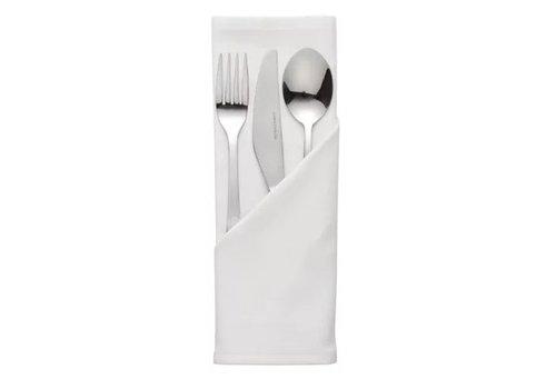 HorecaTraders Polyester Napkin | 55 x 55 cm 3 colors
