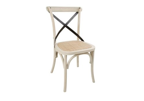 Bolero Wooden Chair | Includes Crossed Backrest (2 pieces)