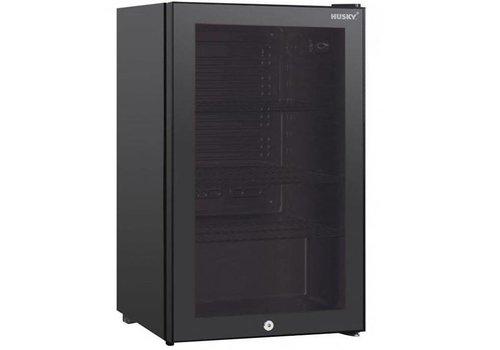 Husky Bar fridge with steel frame 122 liters