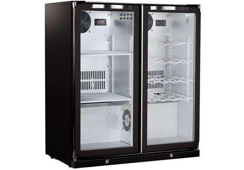 Husky Combi Bar Kühlschrank schwarz | 160 Liter